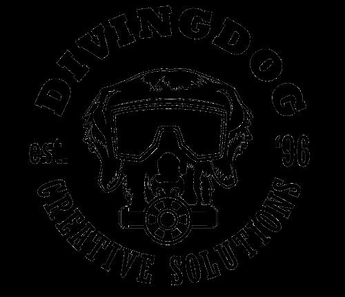 Diving Dog Creative logo