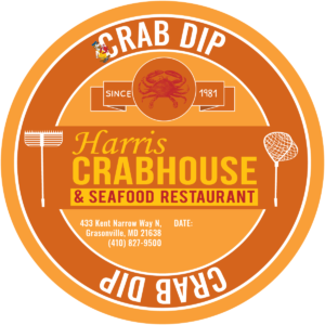 Harris Crab House Food Label