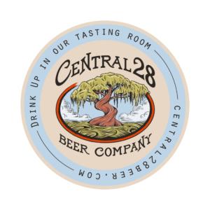 Central 28 Beer Company Coaster