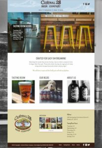 Central 28 Beer Company Website
