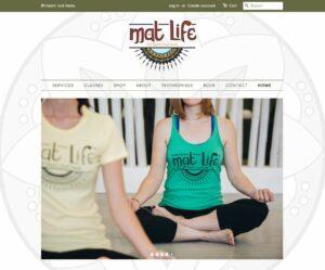 Mat Life Website