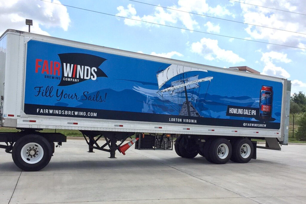 Fairwinds Brewing Co. Wrap