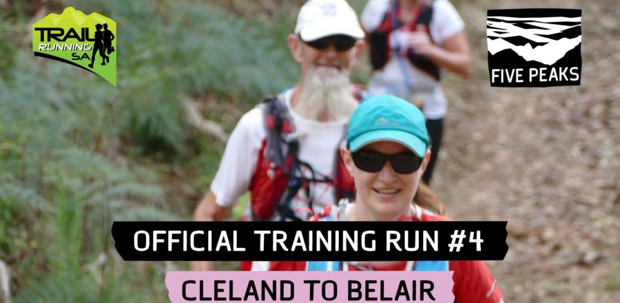 Five Peaks Official Training Run #4 – Cleland to Belair (22 km)
