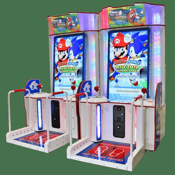 Arkadne igre Mario Sonic