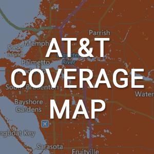 Att Coverage Map of the Bradenton Area