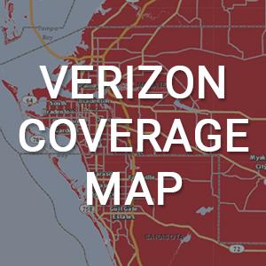 Verizon Coverage Map of the Bradenton Area
