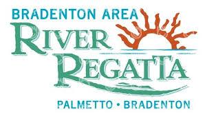 River Regatta logo - manatee county's largest spectator event