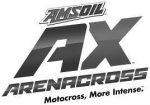 Amsoil AX arenacross black and white logo