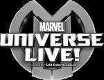 Marvel Universe Live black and white logo