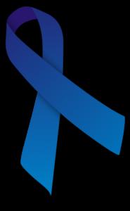 Blue Ribbon for Ankylosing Spondylitis Awareness