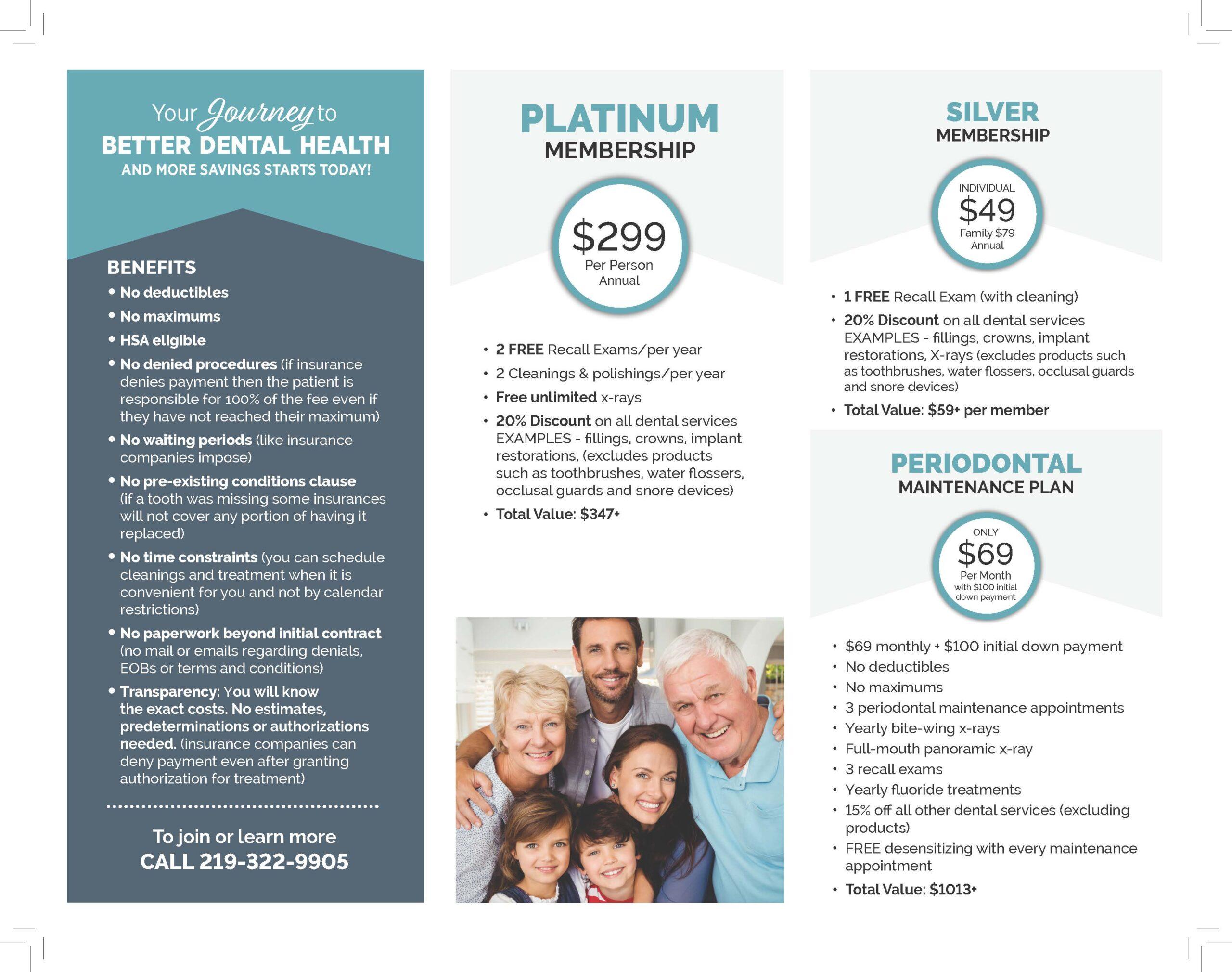 Membership Savings Plan Pricing