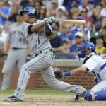 With Ruben Tejada the line drives just keep on coming