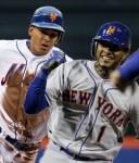 The baseball skills of Ruben Tejada and Jordany Valdespin