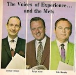 Analysis of the Mets announcers: The historical edition