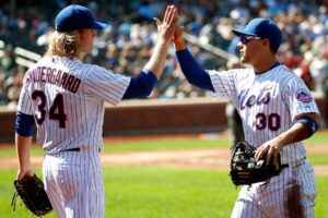 Noah Syndergaard and Michael Conforto