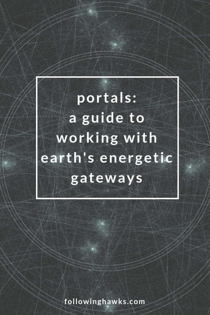 Portals are a normal part of the earth's energy system. My guides taught me how to open and care for them. Click to read the story of how I found and opened seven portals on my property.