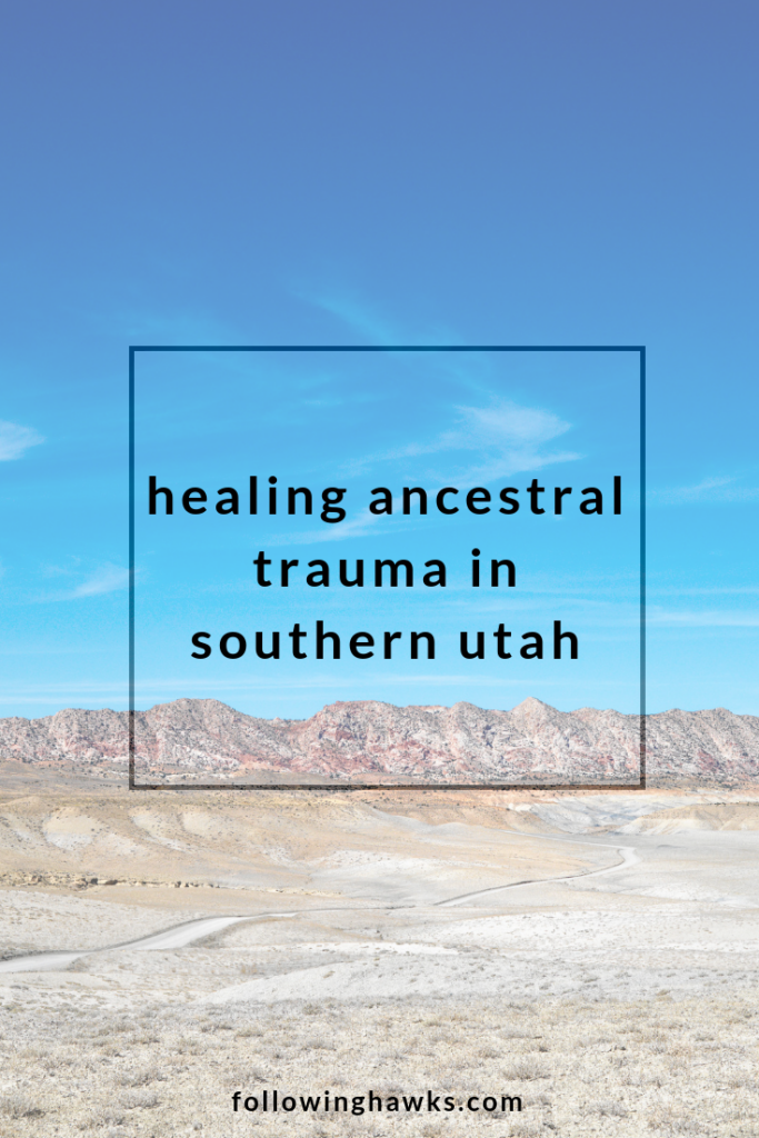 Sometimes my real life is stranger than fiction. Click through to read my story about an angry cloud spirit that led to some deep ancestral healing. #shamanism #healing #energy #ancestors