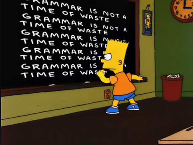 Grammar Lessons for the People