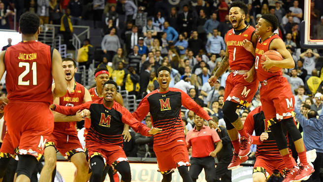 Hoyas Implode as Terps Makes Improbable Comeback in 76-75 win.