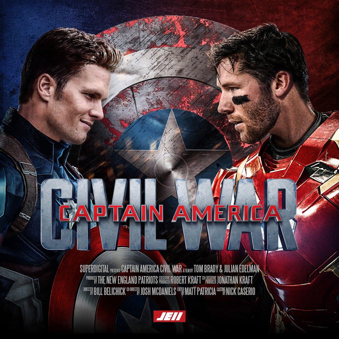 Captain America: Tom Brady