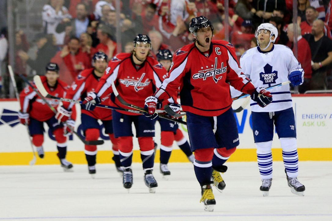 Capitals Win Presidents Trophy, Face Toronto in NHL Playoffs