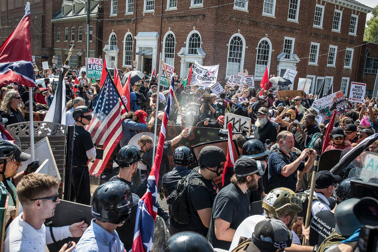 About Charlottesville this past weekend…