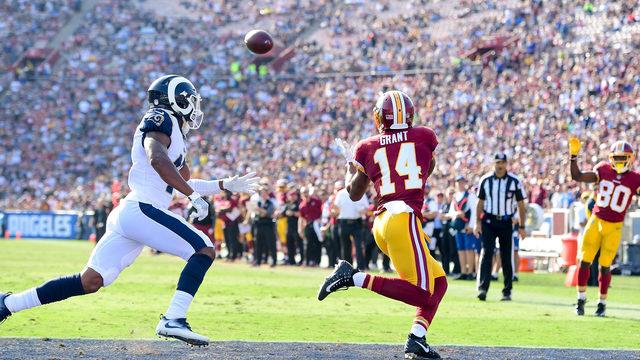 Redskins Win First Game of Season vs Rams