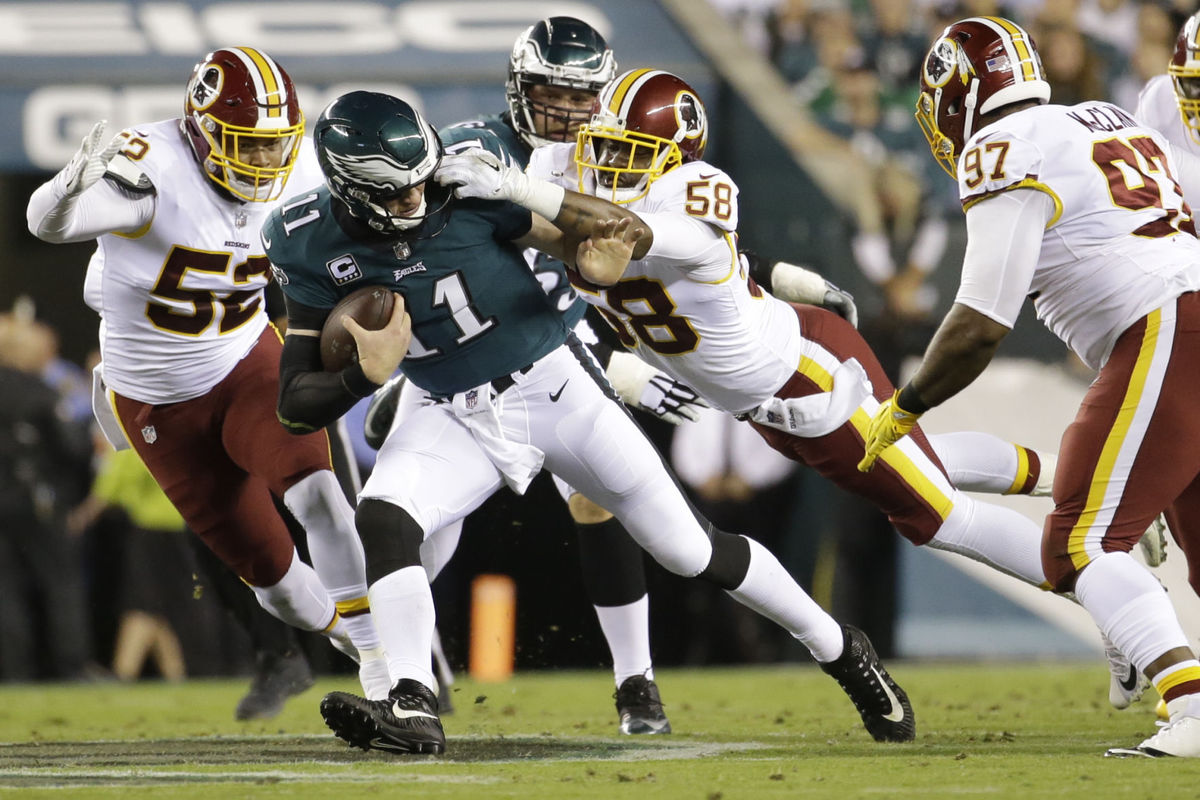 Redskins Continue Pattern of Mediocrity, Lose to Eagles