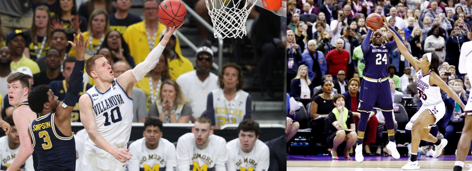 Donte DiVincenzo and Arike Ogunbowale Become Legends and National Champions