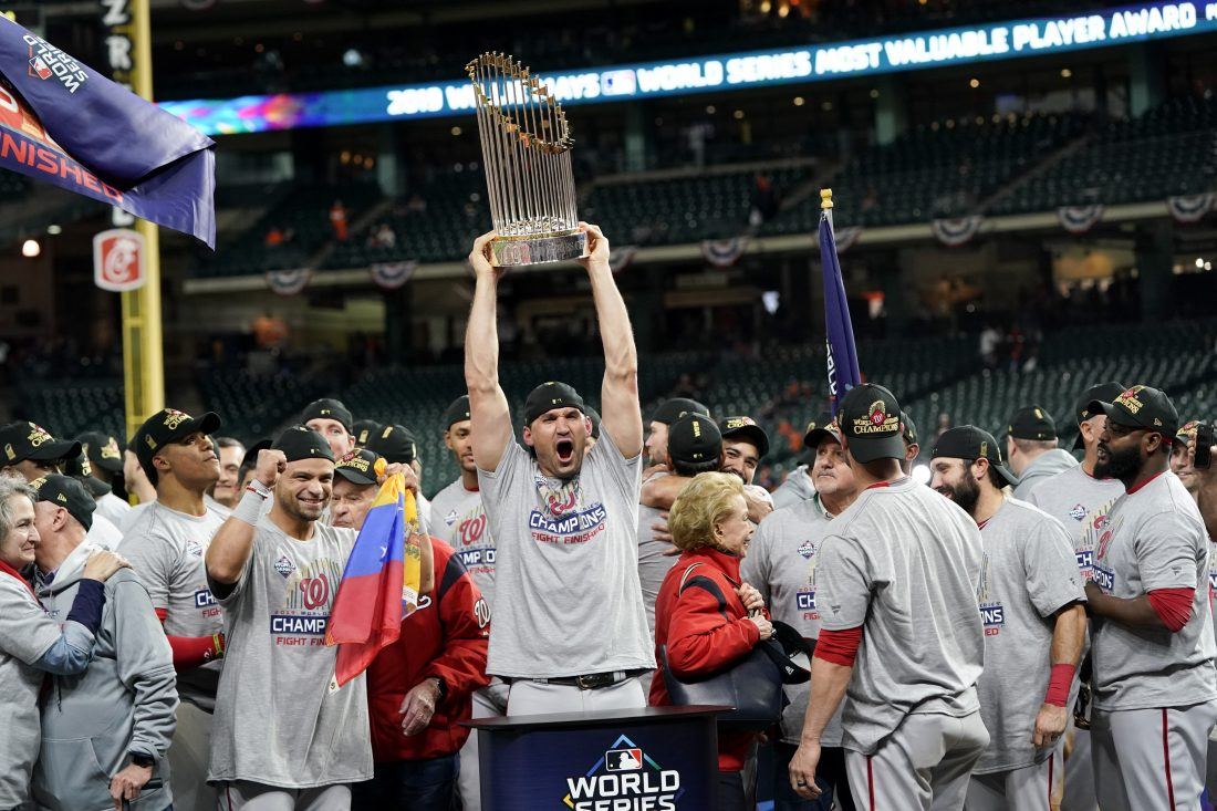 Nationals Win World Series With Improbable Run