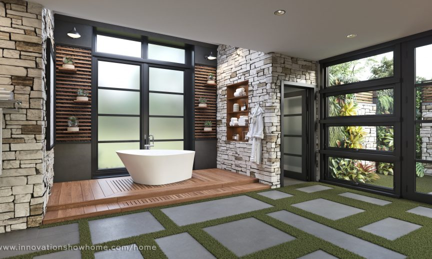 Innovation Show Home 2018. Must be watermarked with www.innovationshowhome.com/home.