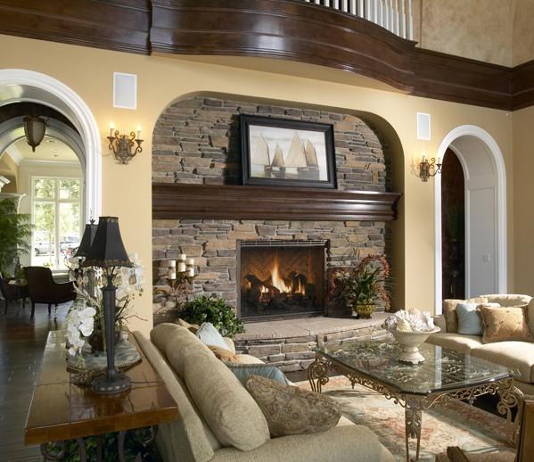 ES_Rustic-Ledge_Saratoga_int_living-room-fireplace_SOD-Seattle