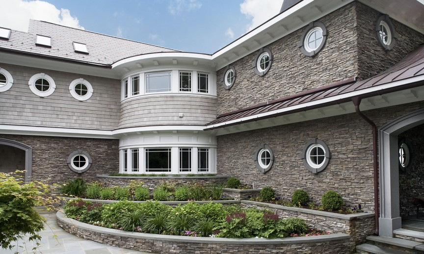 ES_Stacked Stone_Nantucket_Ext_Carr Residence_entrance