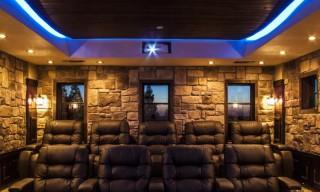 Interior Stone Movie Theater