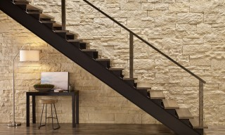 Oyster Cut Coarse Stair