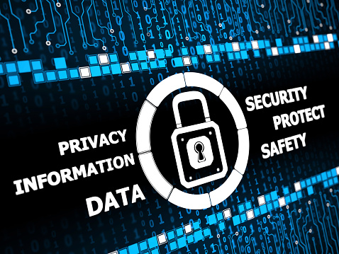 Cybersecurity Concept – PROTECTION