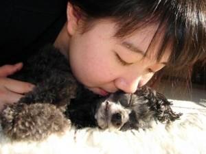 Kissing Poodle