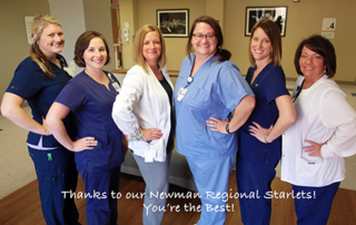 The Stars at Newman Regional Labor & Delivery