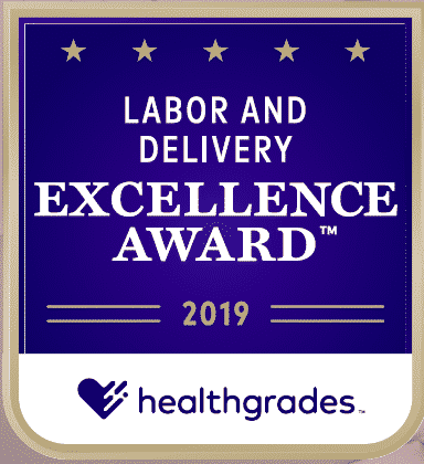 Healthgrades 2019 Labor and Delivery Excellence Award