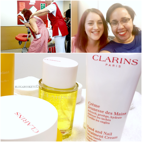 Clarins, Beauty, Spa, Beauty Blogger, Blogger, Blog A Book Etc, Fay