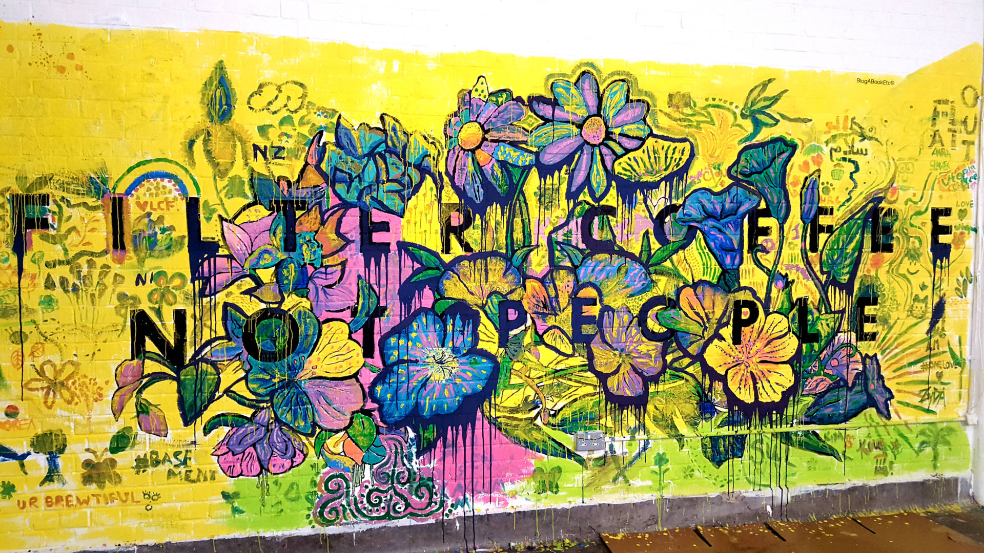 The London Coffee Festival 2017, London Coffee Festival, LCF17, Coffee, Festival, Coffee Festival, London, Wall Art, Street Art, Art, Mural, Filter Coffee, People, Life, Lifestyle, Blogger, London Blogger, Blog A Book Etc, Fay