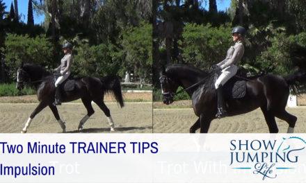 Equestrian Training Scale: Impulsion – Video