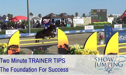 Show Jumping Foundation For Success – Video