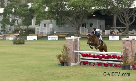 Watch! USEF Junior Hunter Champion – West, Hunter Siebel