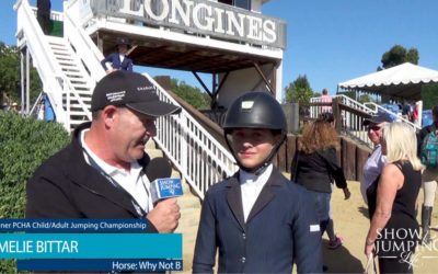Young Rider Interview, Amelie Bittar