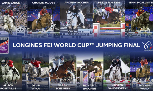 Who Is Going To The FEI World Cup™ Jumping Final In Paris?