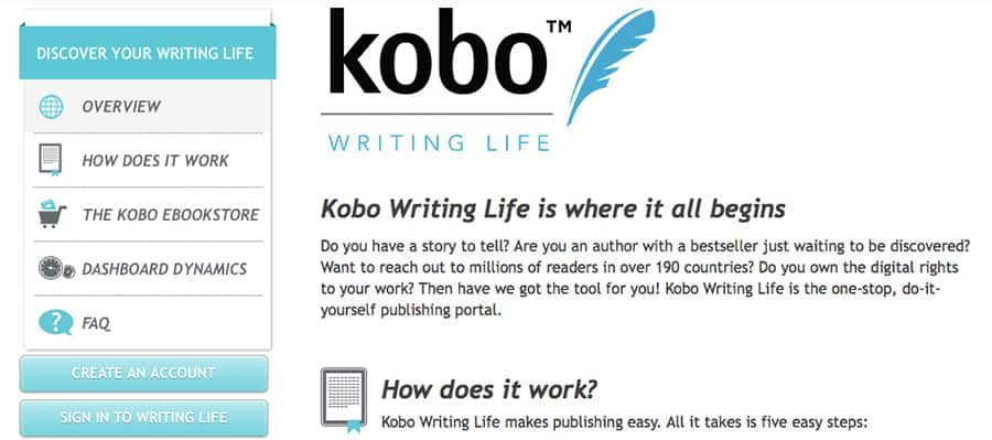 Kobo-Writing-Life-Screen-Shot
