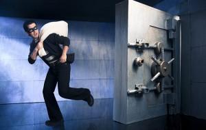 Bank heist escape room