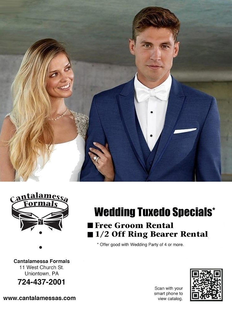 Wedding Tuxedo Special at Cantalamessa's