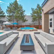 Axio 8400 Pool and Patio Area